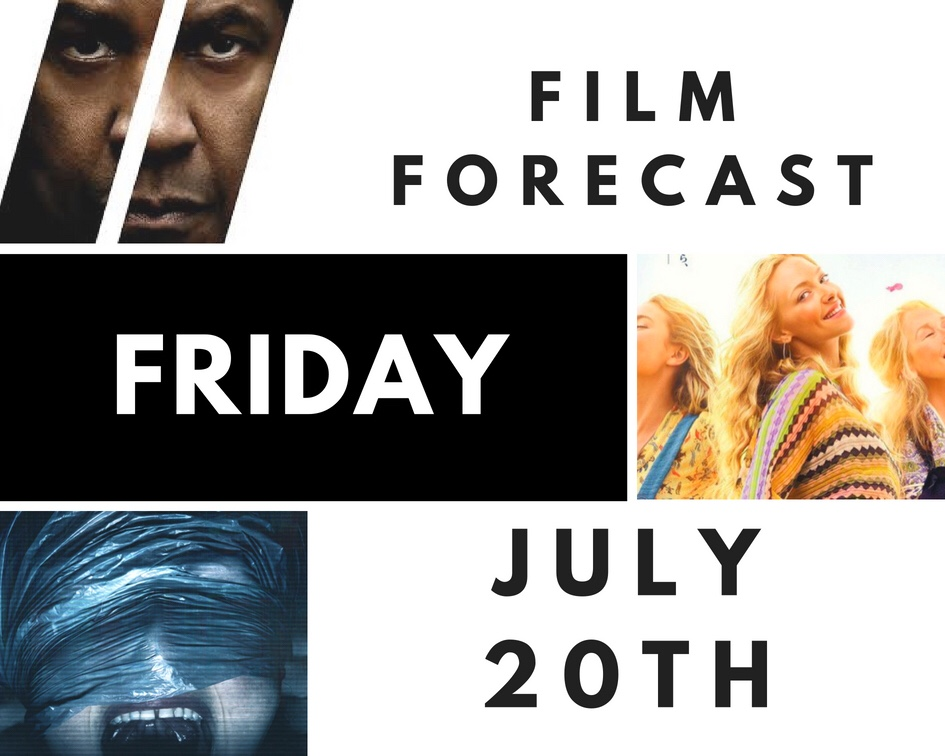 Film Forecast Friday: July20th