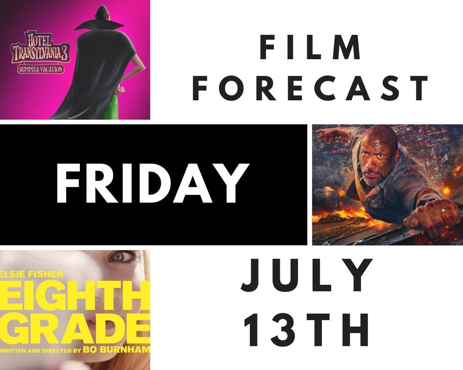 Film Forecast Friday: July13th