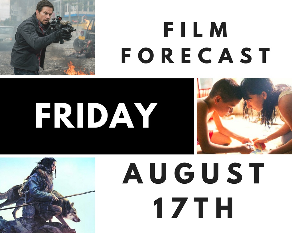 Film Forecast Friday: August 17th